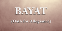 Oath (Bayat) (Teachings)